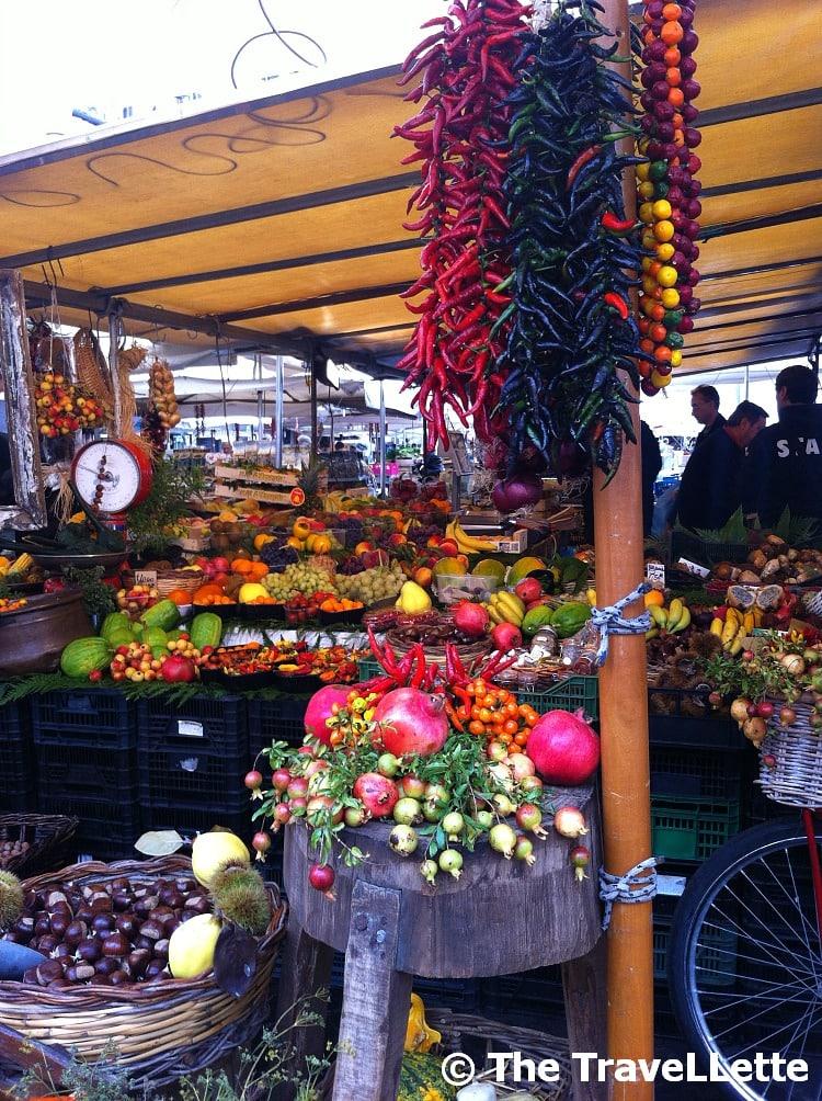 Markt Campo de' Fiori Rom