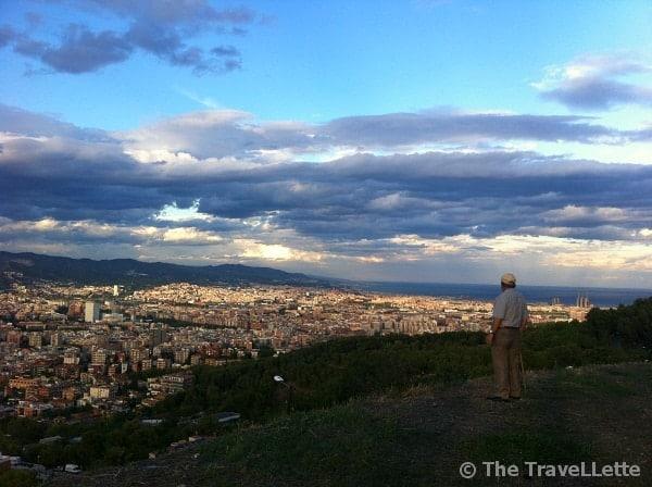 Aussicht Turo de la Rovira