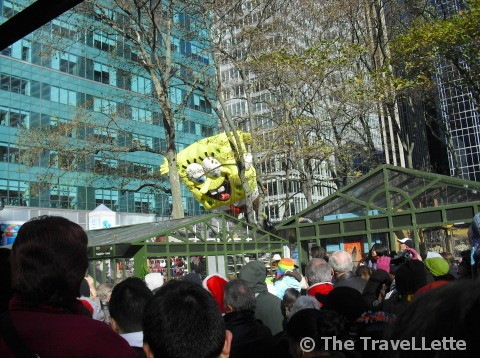 SpongeBob Thanksgiving Parade