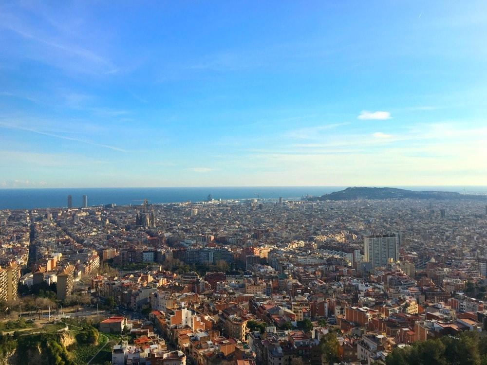 Barcelona Ausblick Reisetipps
