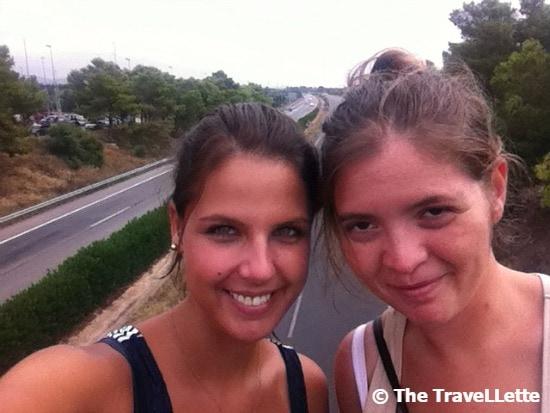 Roadtrip Spanien Selfie