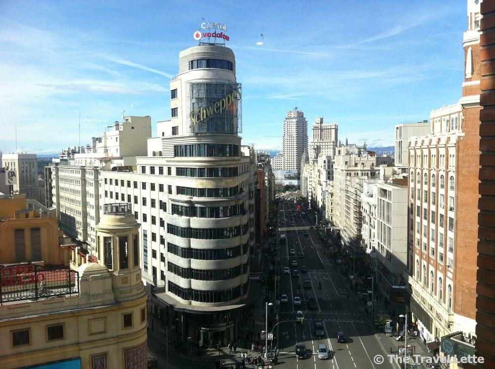Corte Ingles Terrasse Madrid