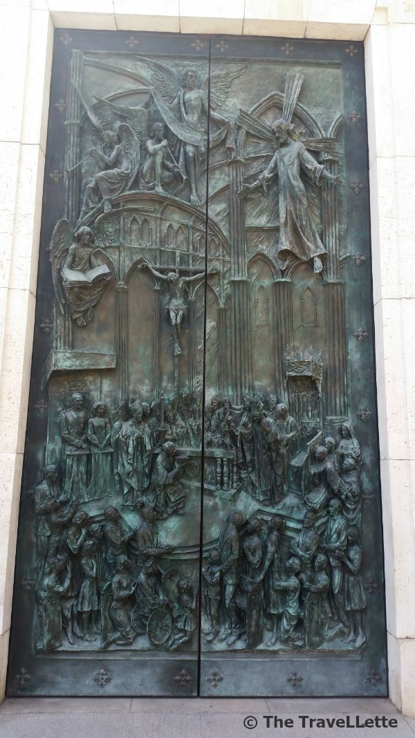 Kirche Tür Madrid