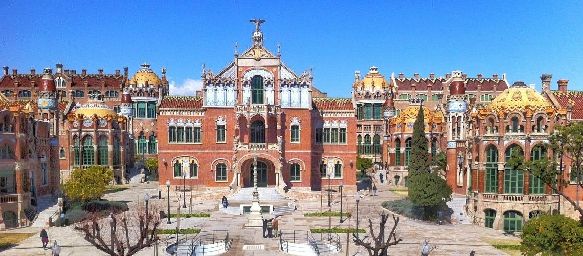 Hospital Sant Pau Geheimtipp Barcelona