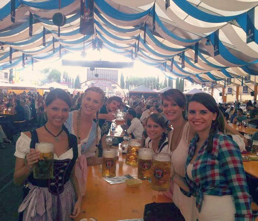 Oktoberfest Gruppe
