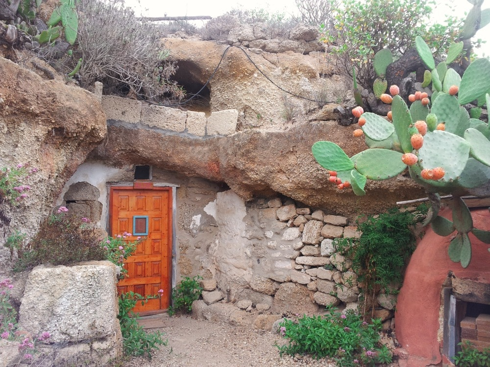 Höhle Unterkunft Teneriffa