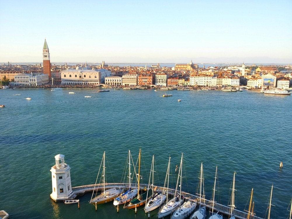 Aussicht Venedig