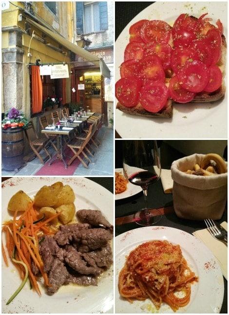 Restaurant Empfehlung Venedig