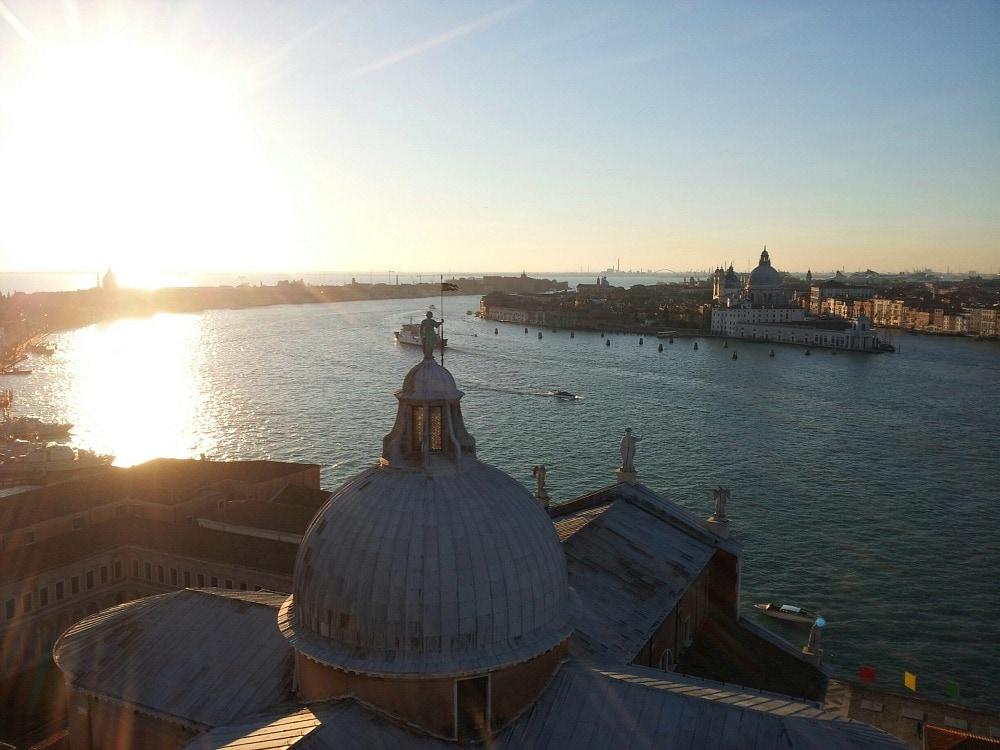 Sonnenuntergang Venedig
