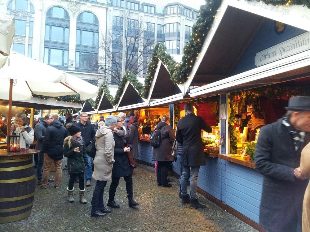 Gänsemarkt Weihnachtsmarkt Hamburg