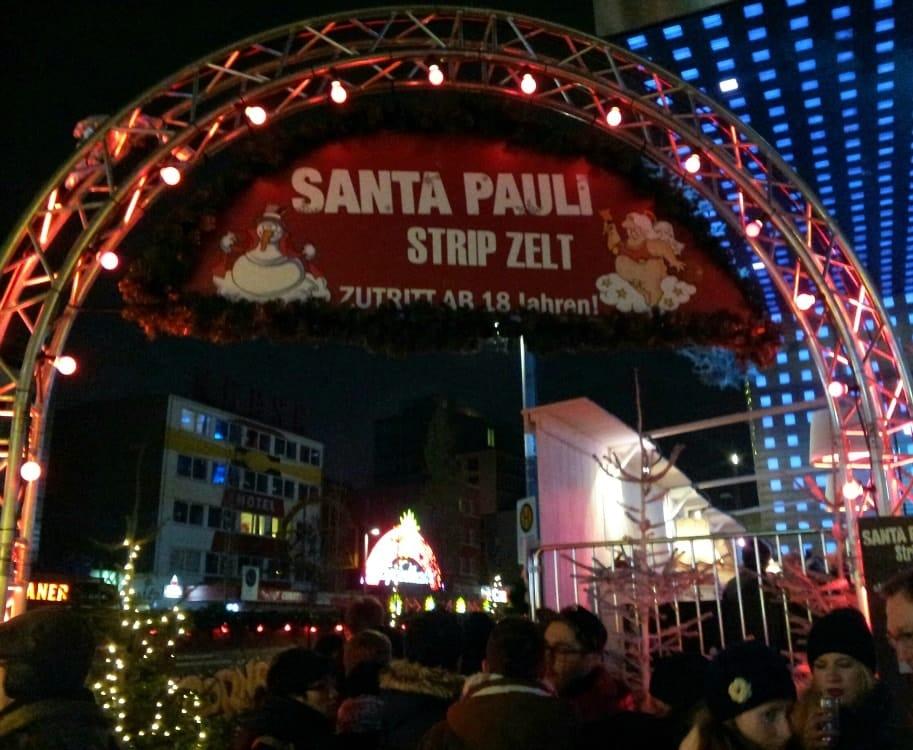 Santa Pauli Weihnachtsmarkt Reeperbahn