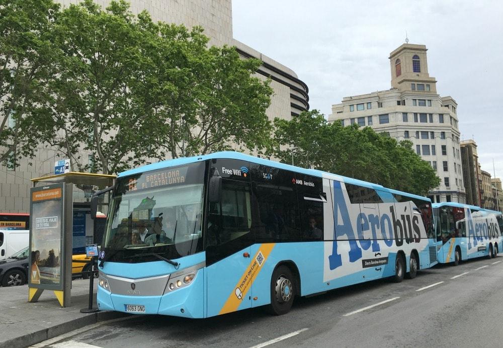 Barcelona FlughafenTransport Aerobus