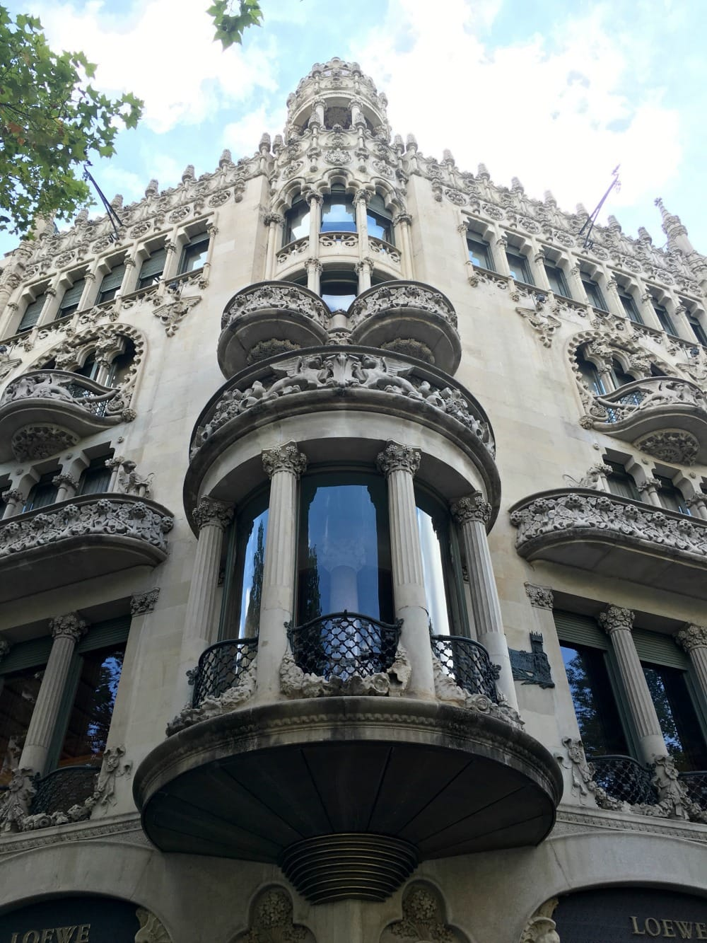 Casa Lleó Morera Fassade