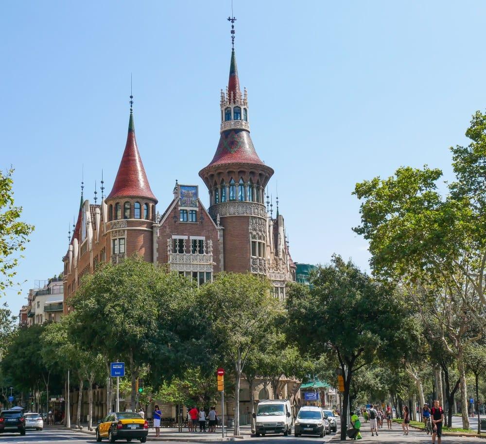 Casa Terrades Barcelona