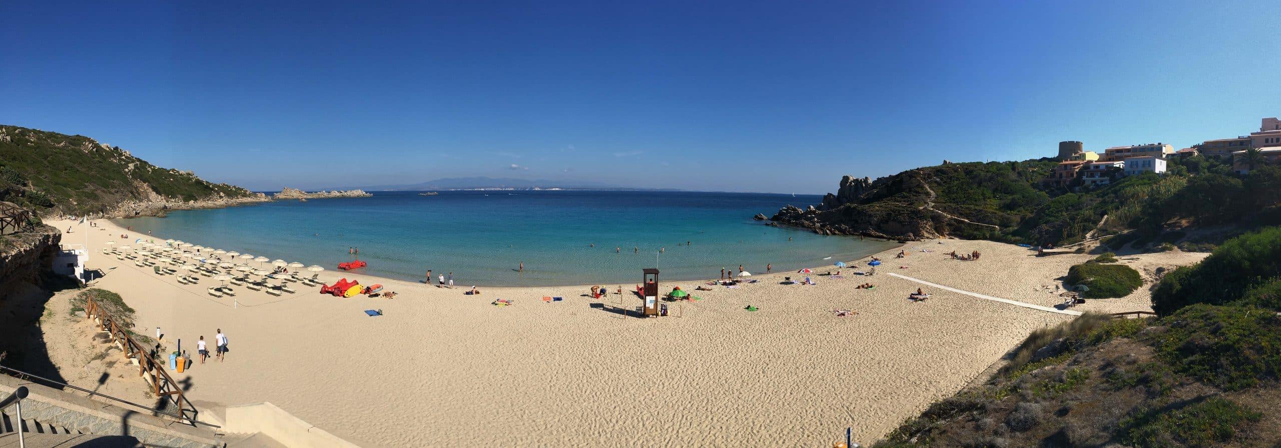 Sardinien Reisetipps - Strand Spiaggia Rena Bianca