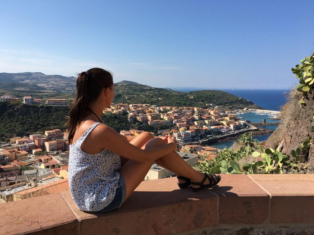Sardinien Reisetipps - Castelsardo Aussicht
