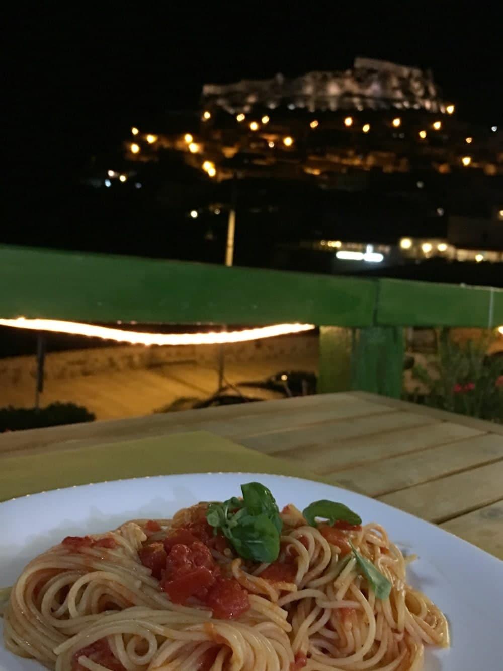 Sardinien Reisetipps - Castelsardo Restaurant Mediterraneum Café