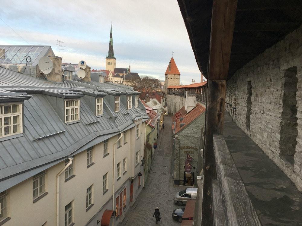 Tallinn Sightseeing Stadtmauer