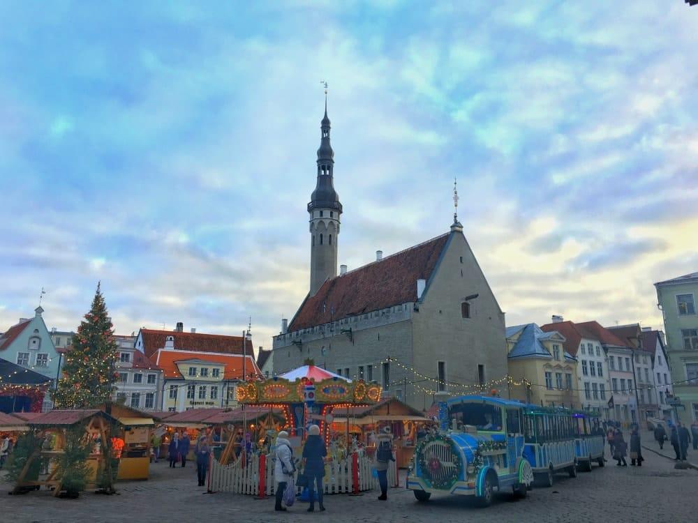 Tallinn Weihnachtsmarkt