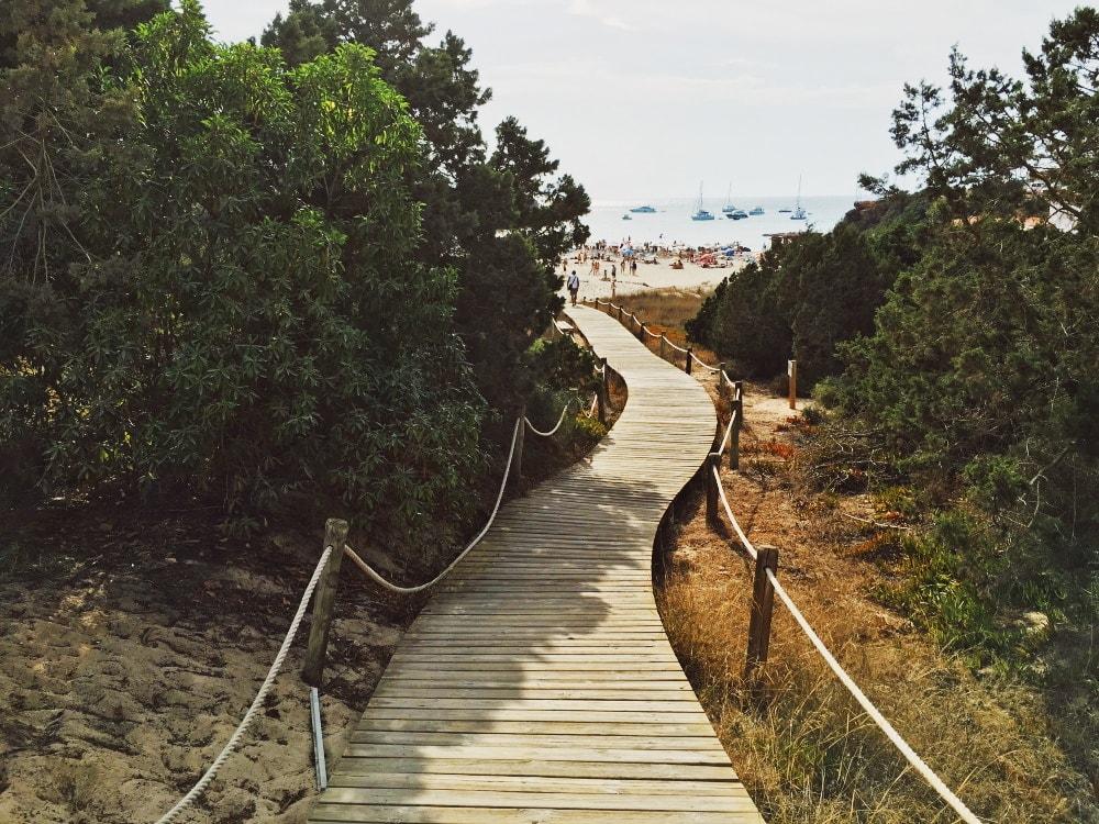 Playa Cala Saona Formentera Guide Straende