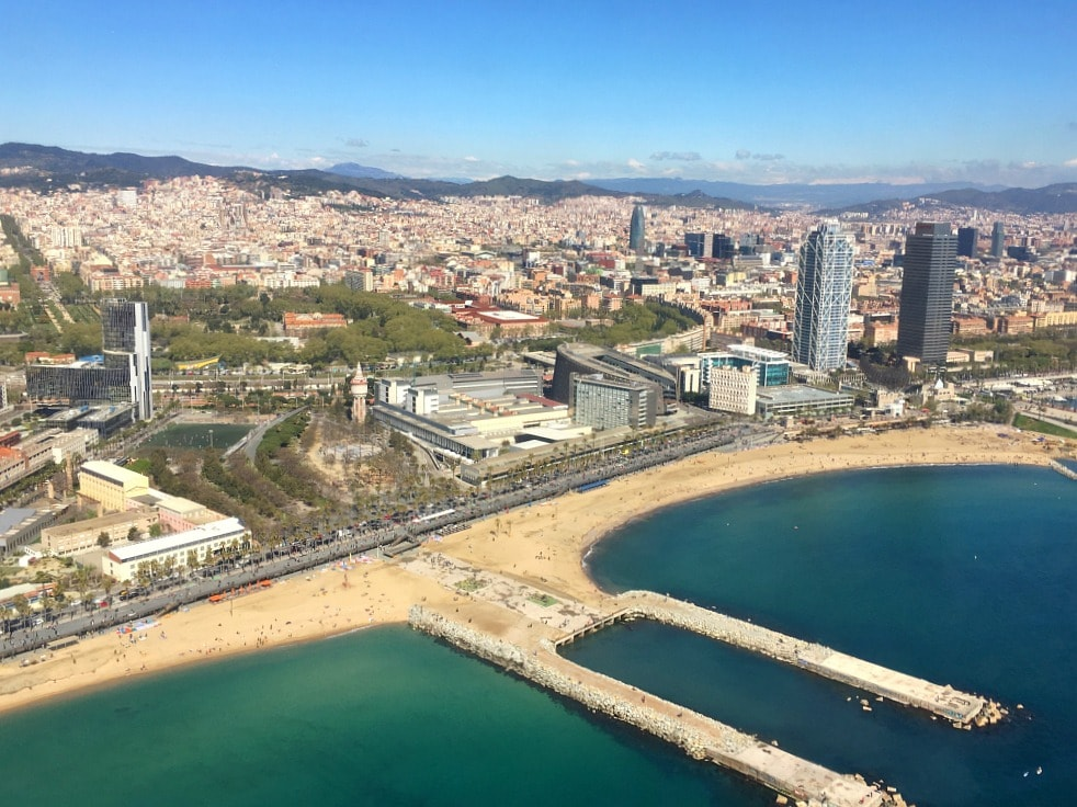 Helikopterflug Barcelona Aussichtspunkte