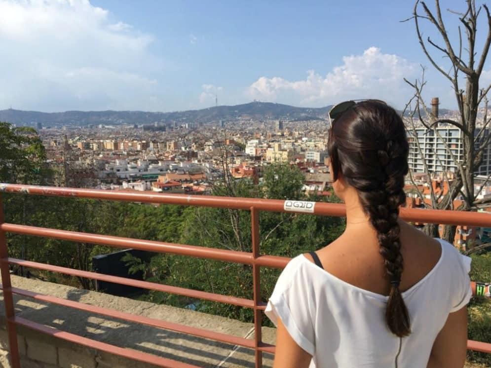 Montjuic Barcelona Aussichtspunkte