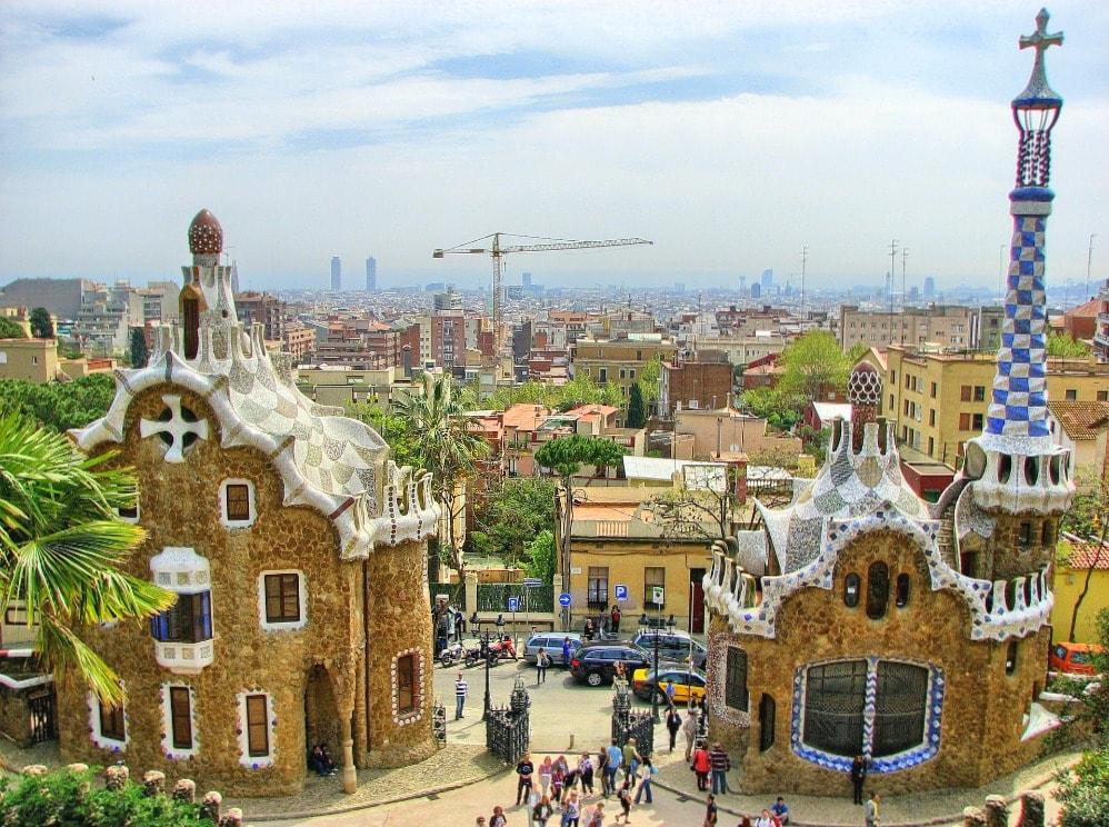 Park Guell Barcelona Aussichtpunkte