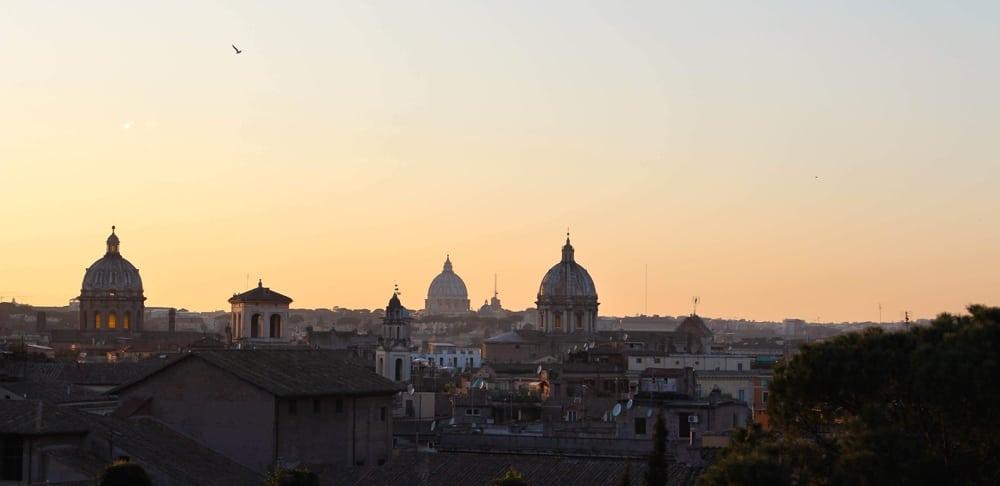 Rom Insidertipps -sonnenuntergang