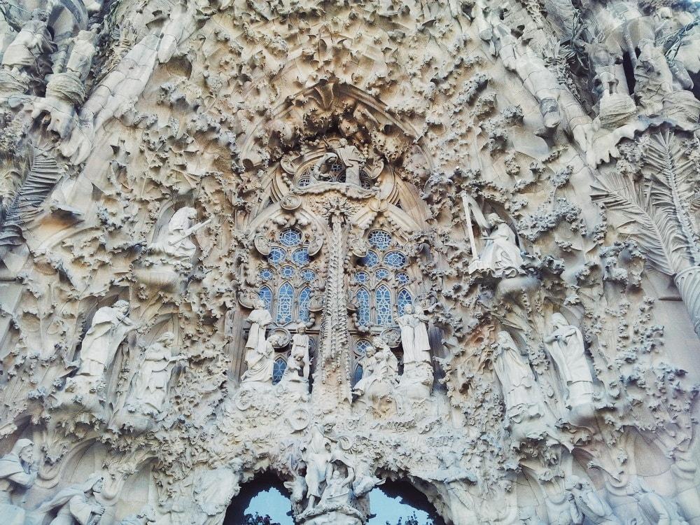 Sagrada-Família-Fassade