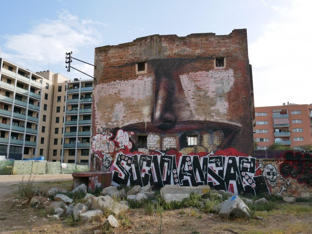 Barcelona Streetart Poblenou