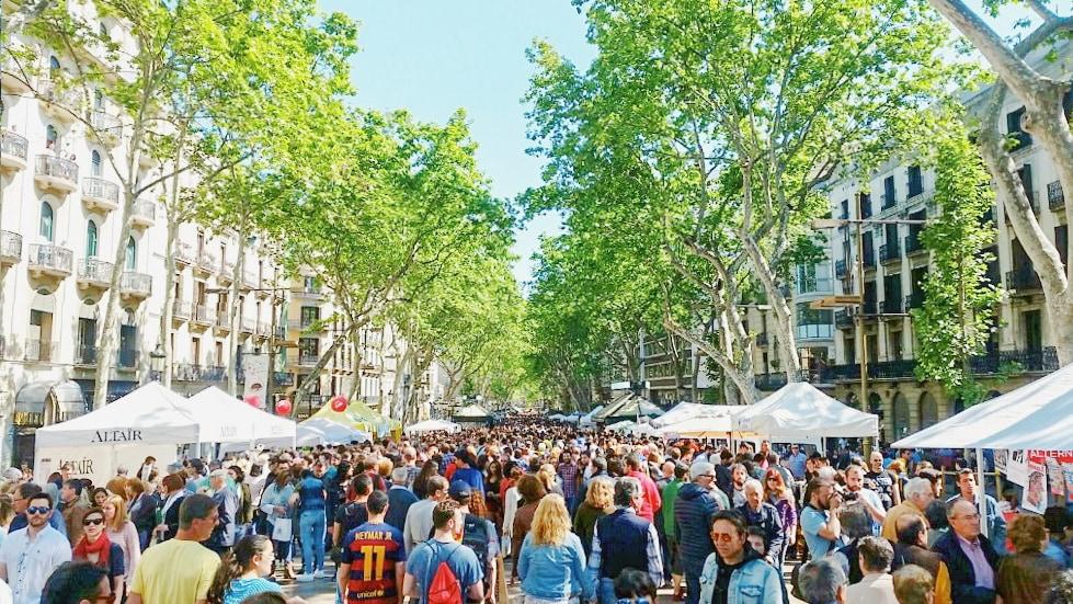 Barcelona-Las-Ramblas-Sant-Jordi