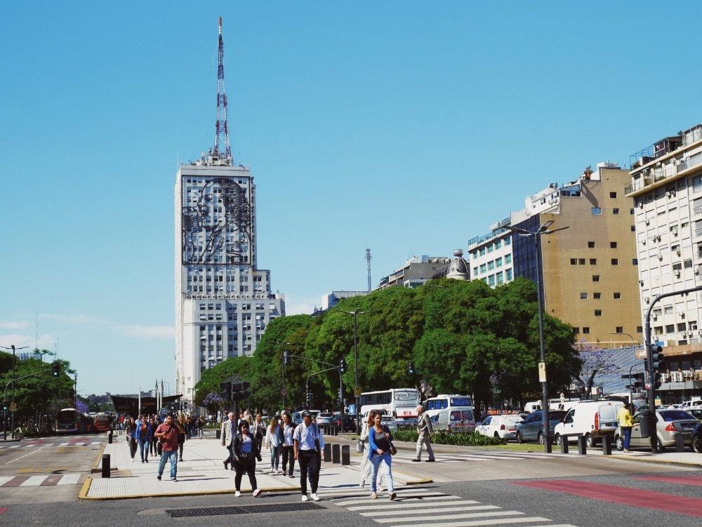 Buenos Aires Insider Tipps Avenida 9. Julio