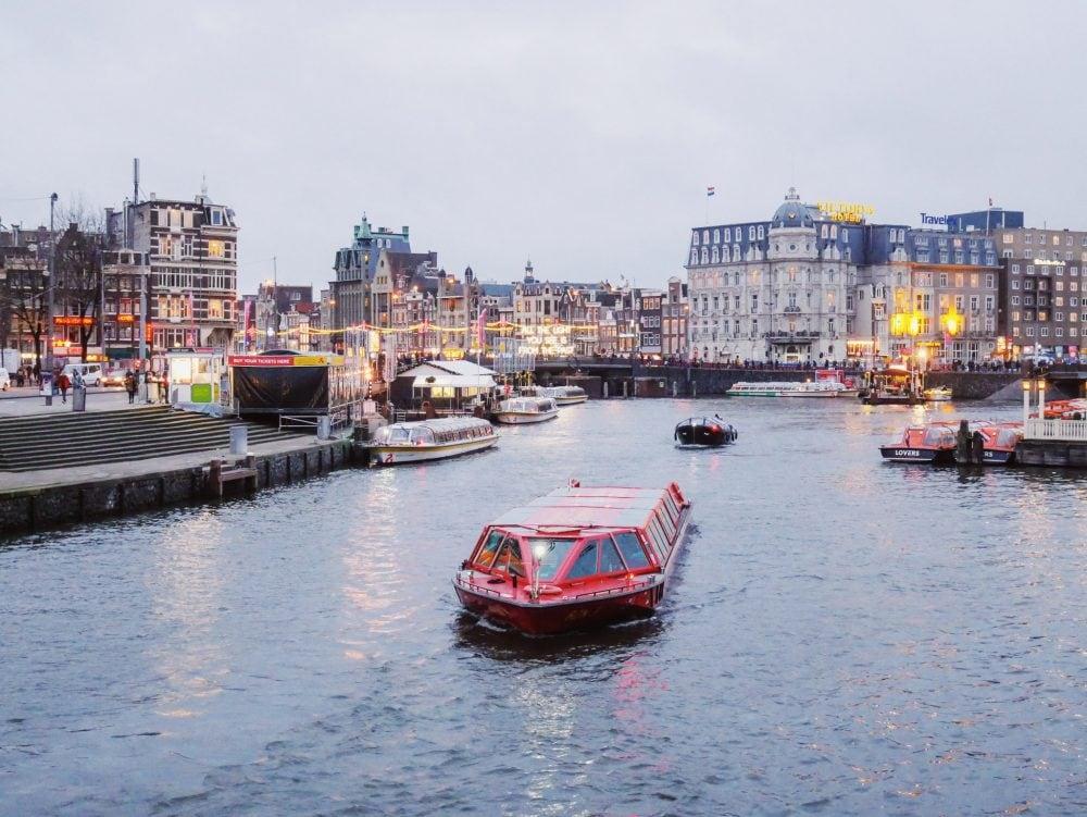 Grachtenfahrt-Amsterdam