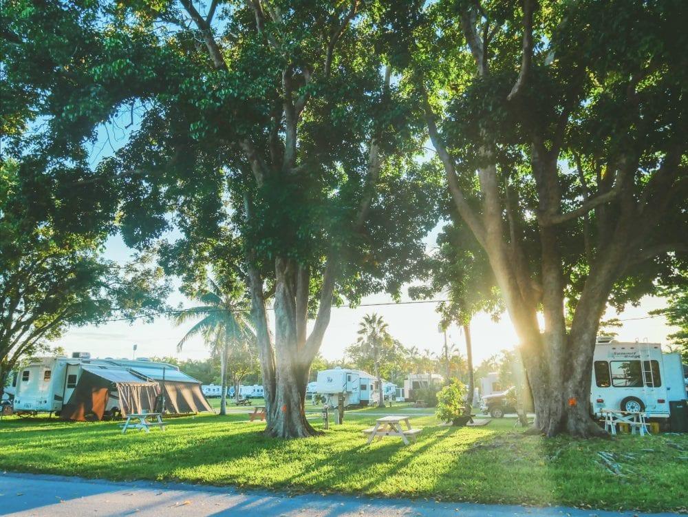 Florida-Campingplatz-Tipp