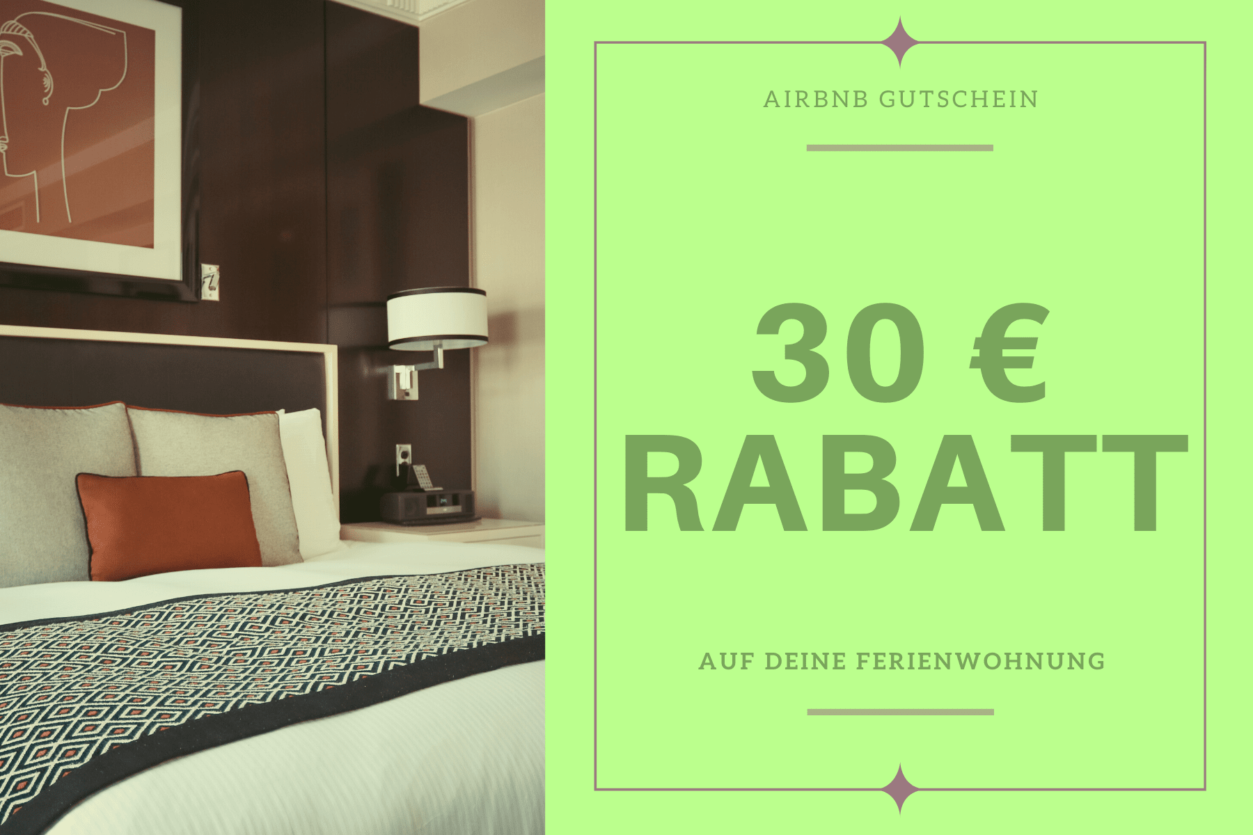 Airbnb Gutschein Rabatt