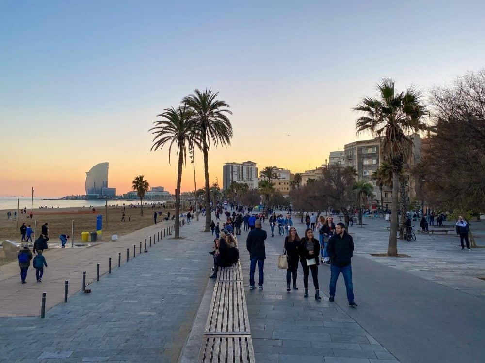 Barceloneta-Strand