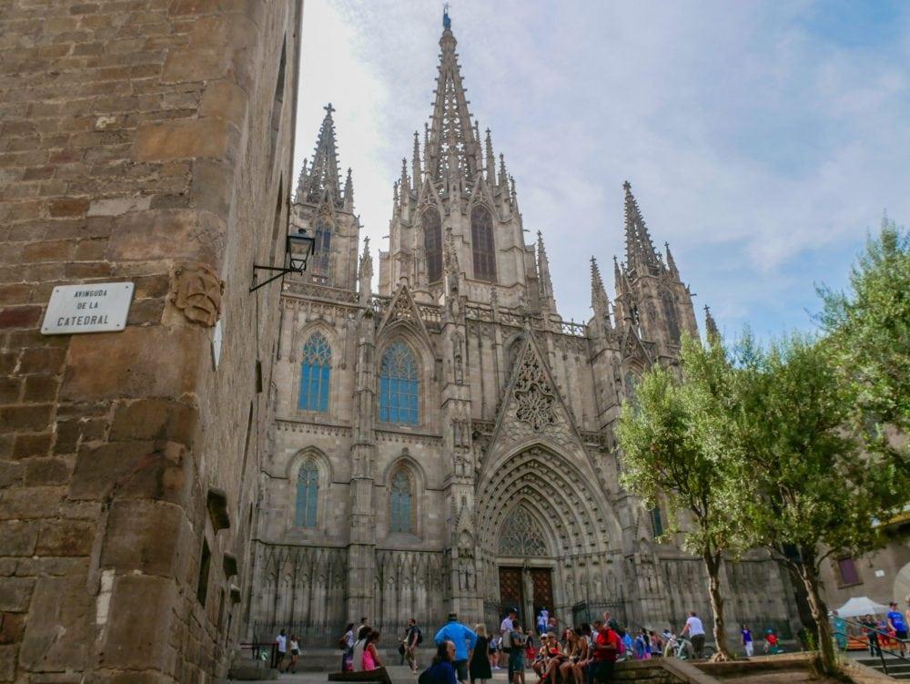 Kathedrale-Barcelona-Sehenswürdigkeiten