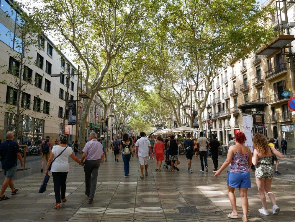 Las-Ramblas-Barcelona-Sehenswürdigkeiten
