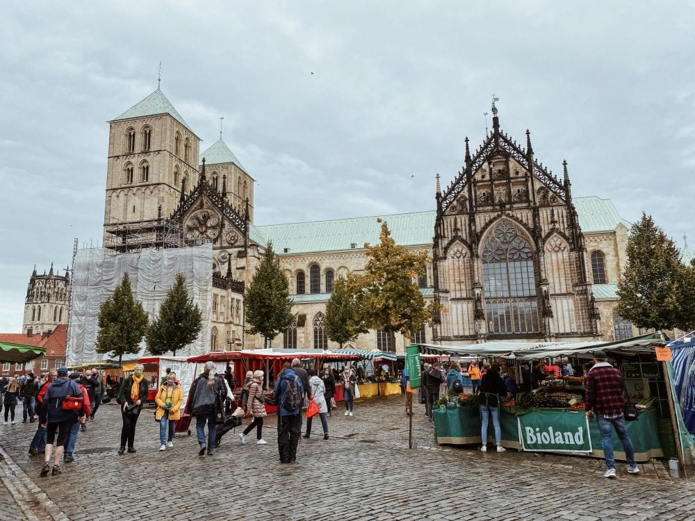 Wochenmarkt-Münster